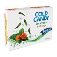 آبنبات سرد پرتقالی بدون قند کامور مقدار 24 گرم