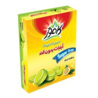 آبنبات لیمو بدون قند کامور مقدار 160 گرم