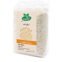 برنج سفید آبگینه مقدار 5 کیلوگرم