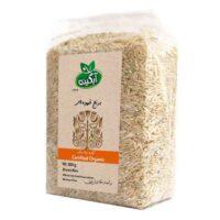 برنج قهوه ای آبگینه مقدار 900 گرم