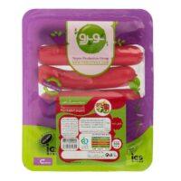 سوسیس گیاهی پاپریکا (فلفل دلمه رنگی ) نوپرو مقدار 300 گرم