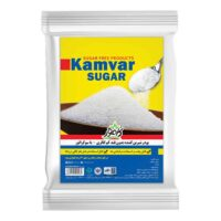 شکر رژیمی و بدون قند کامور مقدار 2 کیلوگرم