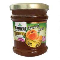 مربای زردآلو بدون شکر و رژیمی کامور مقدار 280 گرم