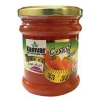 مربای هویج بدون شکر و رژیمی کامور مقدار 280 گرم