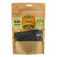 کنجد دانه سیاه ارگانیک نیکاتیس مقدار 250 گرم