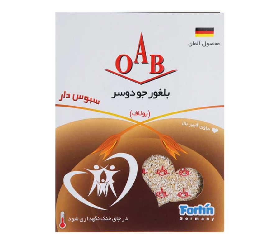 بلغور جو دو سر اُ آ ب (OAB) مقدار 200 گرم