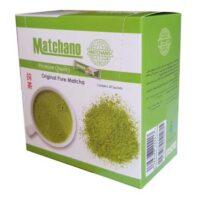 پودر چاي سبز خالص ماچانو مقدار 30 عدد