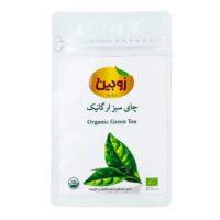 چاي سبز ارگانيک زوبين مقدار 100 گرم